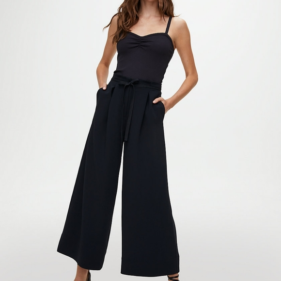 Wilfred high rise culotte pants